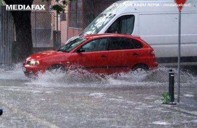 METEO miercuri, 22 iulie. Vreme ploioasă în cea mai mare parte a ţării, până la ora 22.00