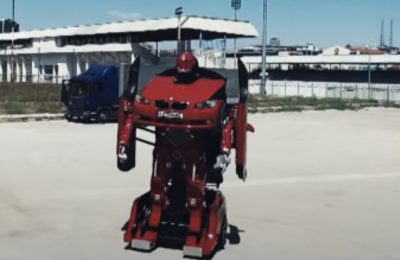 VIDEO | Uite cum arată un BMW Transformer