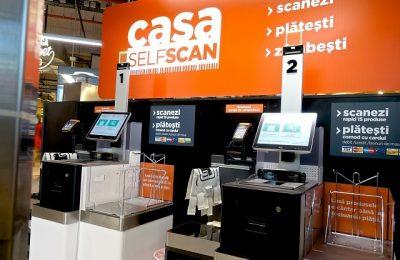 O reţea de supermaketuri a instalat case de marcat self-checkout în 80 de magazine şi va ajunge la 100 de supermarketuri