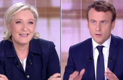 Sondaj: Marine Le Pen l-ar învinge pe Emmanuel Macron în primul tur alegerilor prezidenţiale