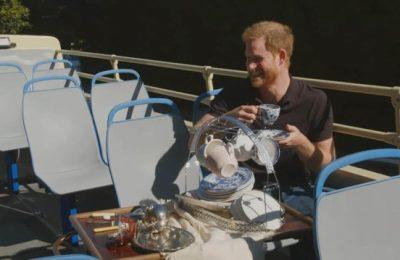 VIDEO Prinţul Harry, interviu inedit acordat lui James Corden. Viaţa în SUA, cu Meghan Markle şi micul Archie, după ruptura de familia regală britanică