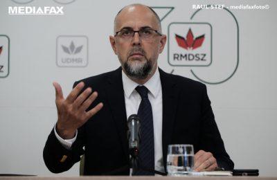 Kelemen: Nu comentez criticile dinspre PNL spre USR. Am încredere în Voiculescu