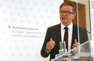 """Ministrul austriac al Sănătăţii îşi dă demisia pe fondul oboselii, """"epuizat"""" din cauza provocărilor din timpul pandemiei de Covid-19"""