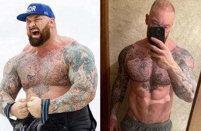 """Muntele"" Hafþór Júlíus Björnsson, actorul din Game of Thrones, a slăbit 50 de kilograme"