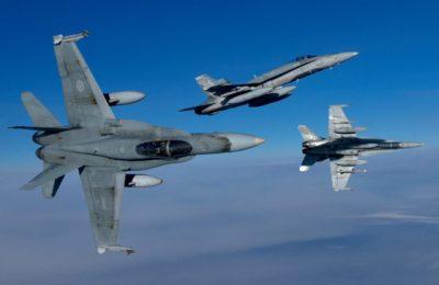 Incident în Marea Neagră. Avioane române şi canadiene au interceptat aeronave militare ruse în aproperierea spaţiului aerian al României