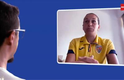 """""""Viaţa mea în fotbal"""". Laura """"Lala"""" Rus, un fel de Cristiano Ronaldo al fotbalului românesc feminin"""